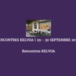 Les deuxièmes rencontres de KELVOA à Marseille les 29 et 30 septembre 2016