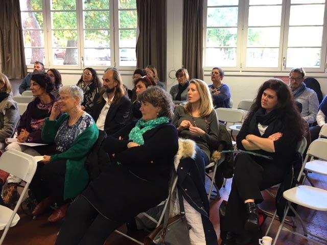 Conférence sur les sens et l'accompagnement professionnel
